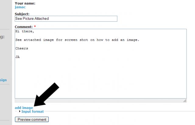 Add Image Screengrab
